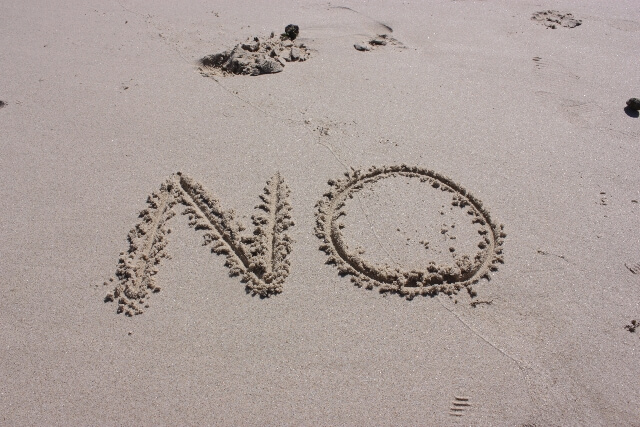 no-on-the-beach